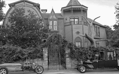 "The McKee's real ""Munster Mansion"""