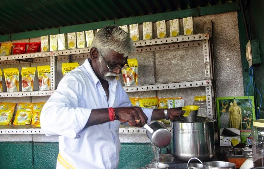 dégustation de thé tamil nadu