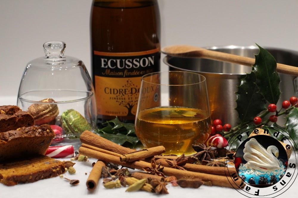 Cidre ou jus de pomme de Noël fait maison