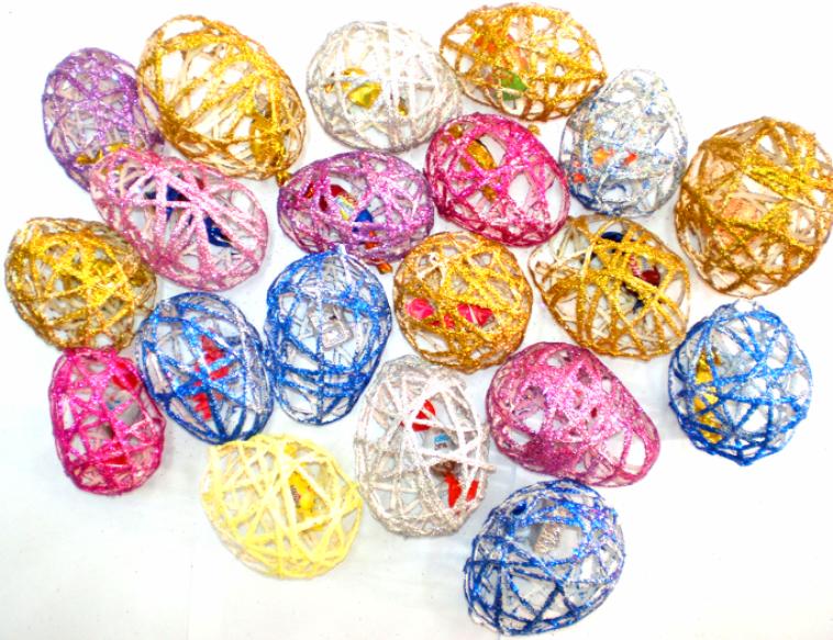 Ouă decorative pentru Paşti