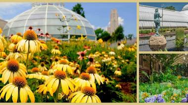 Phipps Conservatory. Jardines Botánicos en Pensilvania