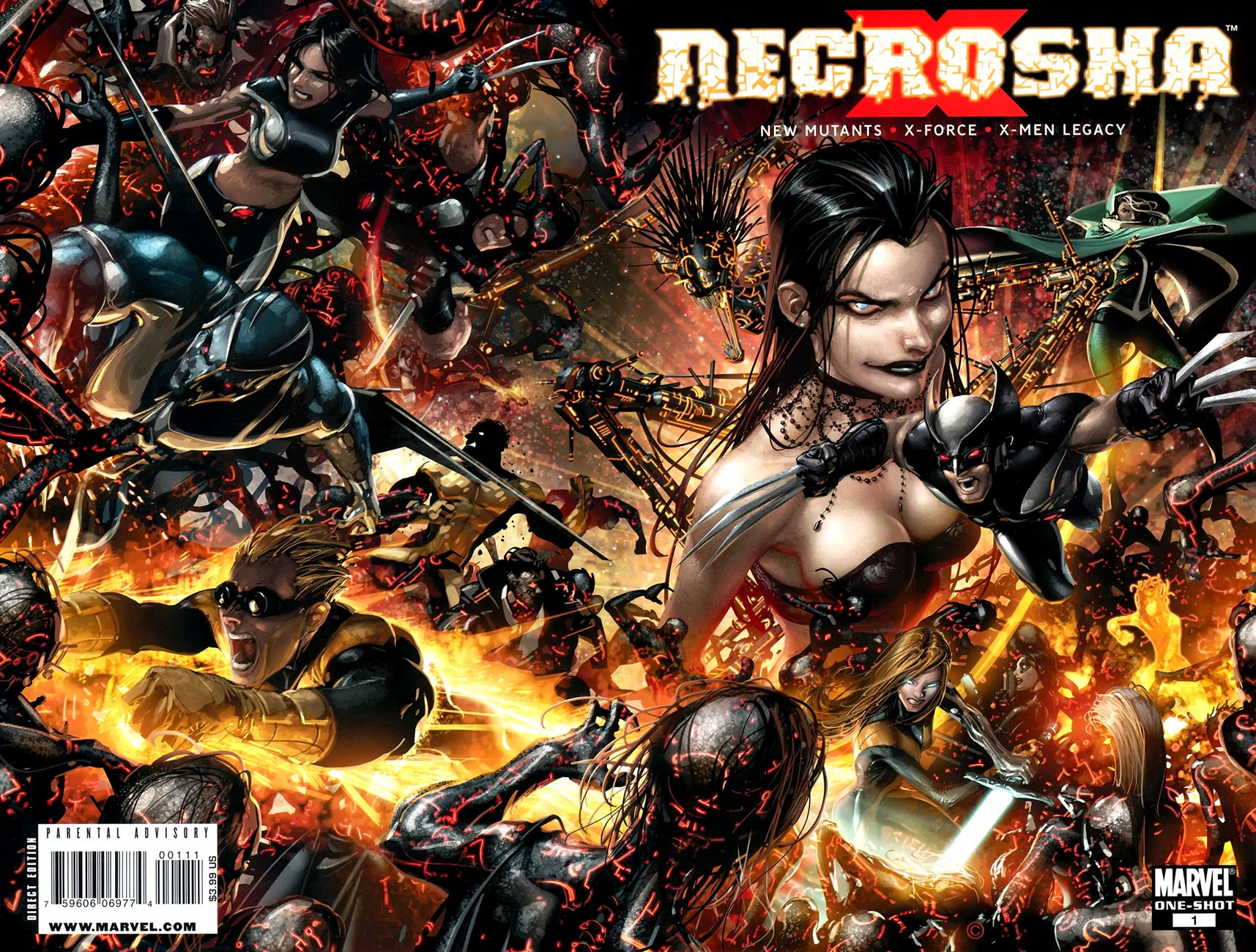 X-Men Necrosha chap 1 trang 1