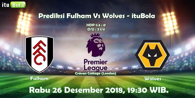 Prediksi Fulham Vs Wolves - ituBola