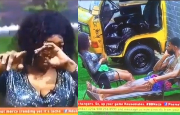 [VIDEO] BBNaija:Watch Moment Tacha broke down in tears while apologizing to Mike and promising to become a better person