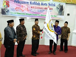 WAKIL WALIKOTA SOLOK LEPAS KAFILAH KONTINGEN MTQ KE-37 TINGKAT SUMBAR