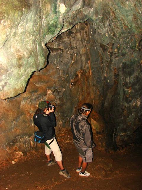 Олег и Денис в пещере Терпи-Коба