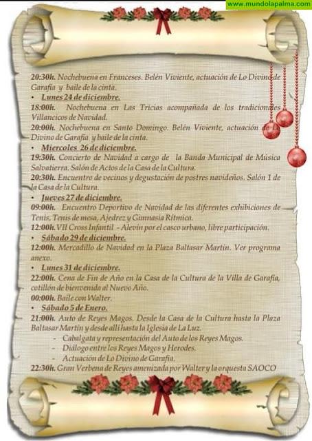 Programa de Navidad 2018-2019 Villa de Garafía