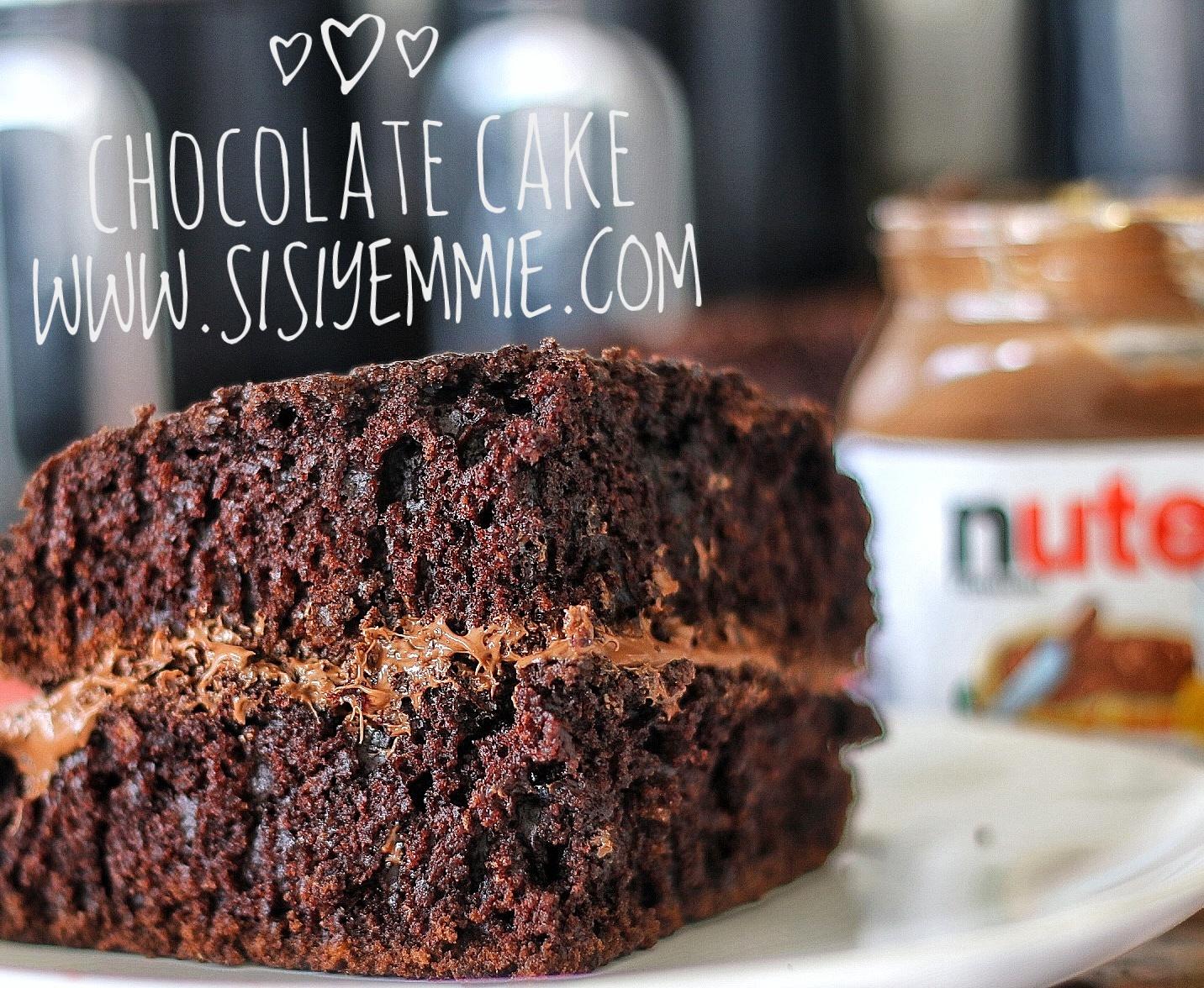 Easy chocolate cake recipe sisiyemmie nigerian food lifestyle blog easy chocolate cake recipe food forumfinder Images