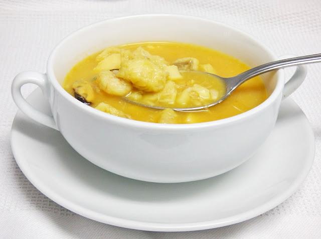 como hacer sopa de pescado facil