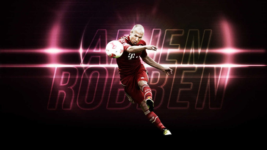 All Soccer Playerz HD Wallpapers: Arjen Robben Cool HD Wallpapers 2012