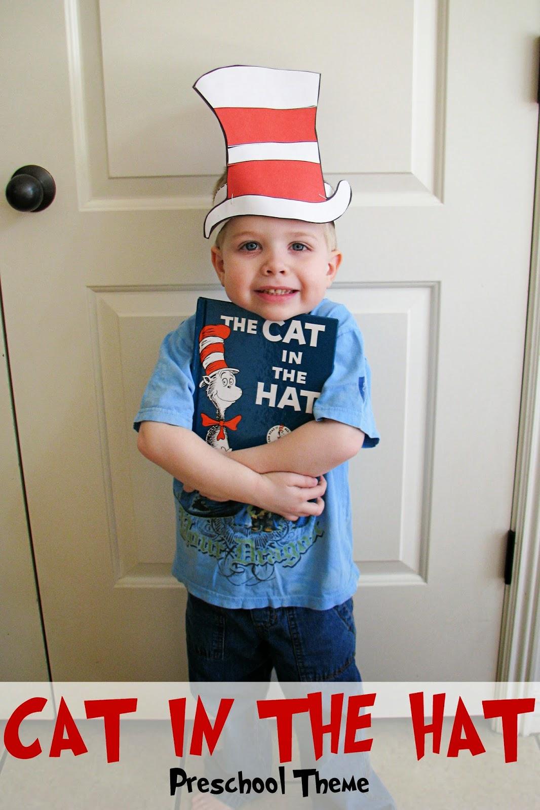 Mommy S Little Helper Cat In The Hat Preschool Theme