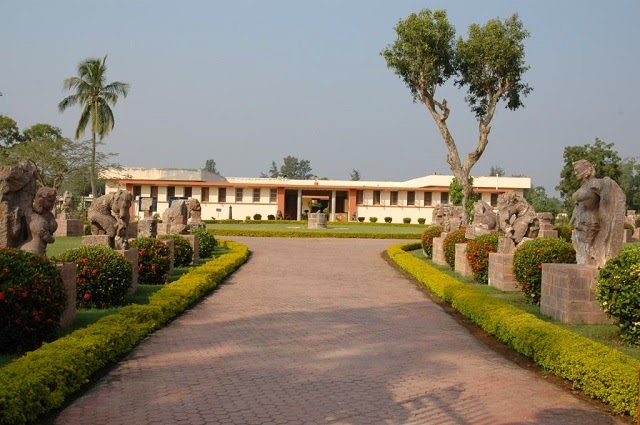 Archaeological Museum in Konark,Orissa