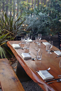 Big Sur Bakery & Restaurant patio table