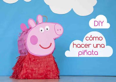DIY - Peppa Pig Piñata