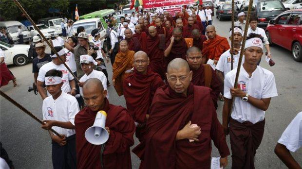 Otoritas Myanmar Segel Satu Masjid dan Sekolah di Yangon