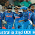 India Vs Australia 2nd ODI Highlights