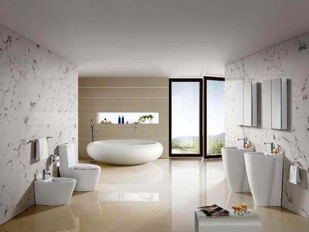 This Refresh Minimalist Bathroom Without Remodeling By Using Soft Best Bathroom Design Colors Minimalist