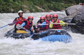 ciberang river rafting