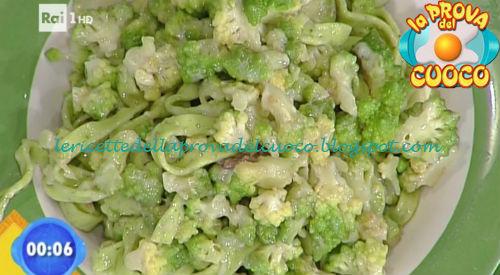 Tagliatelle verdi con broccolo e pecorino ricetta Salvatori da Prova del Cuoco