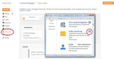 membuat widget postingan terbaru di blogger