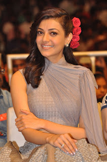 Actress Kajal Aggarwal Stills at Sardaar Gabbar Singh Audio Launch  0021