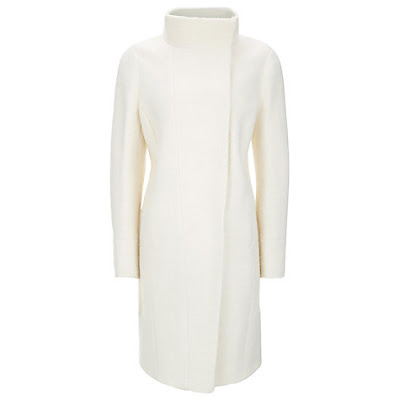 Planet Boucle Coat Ivory