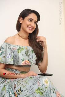 Actress Pragya Jaiswal Stills in Floral Dress at turodu Interview  0151.JPG