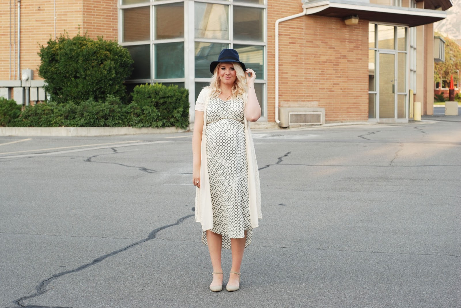 Brass Button Clothing, T-Shirt Dress, Maternity Outfit