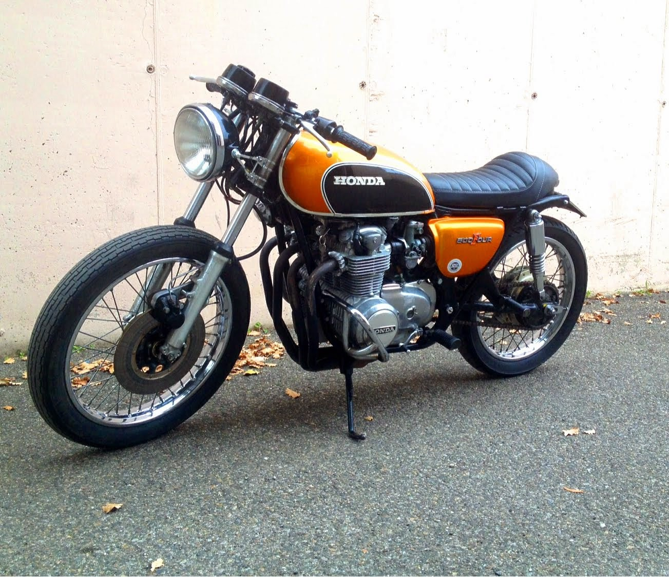 Honda Cb Four 500 by Ruote Rugginose
