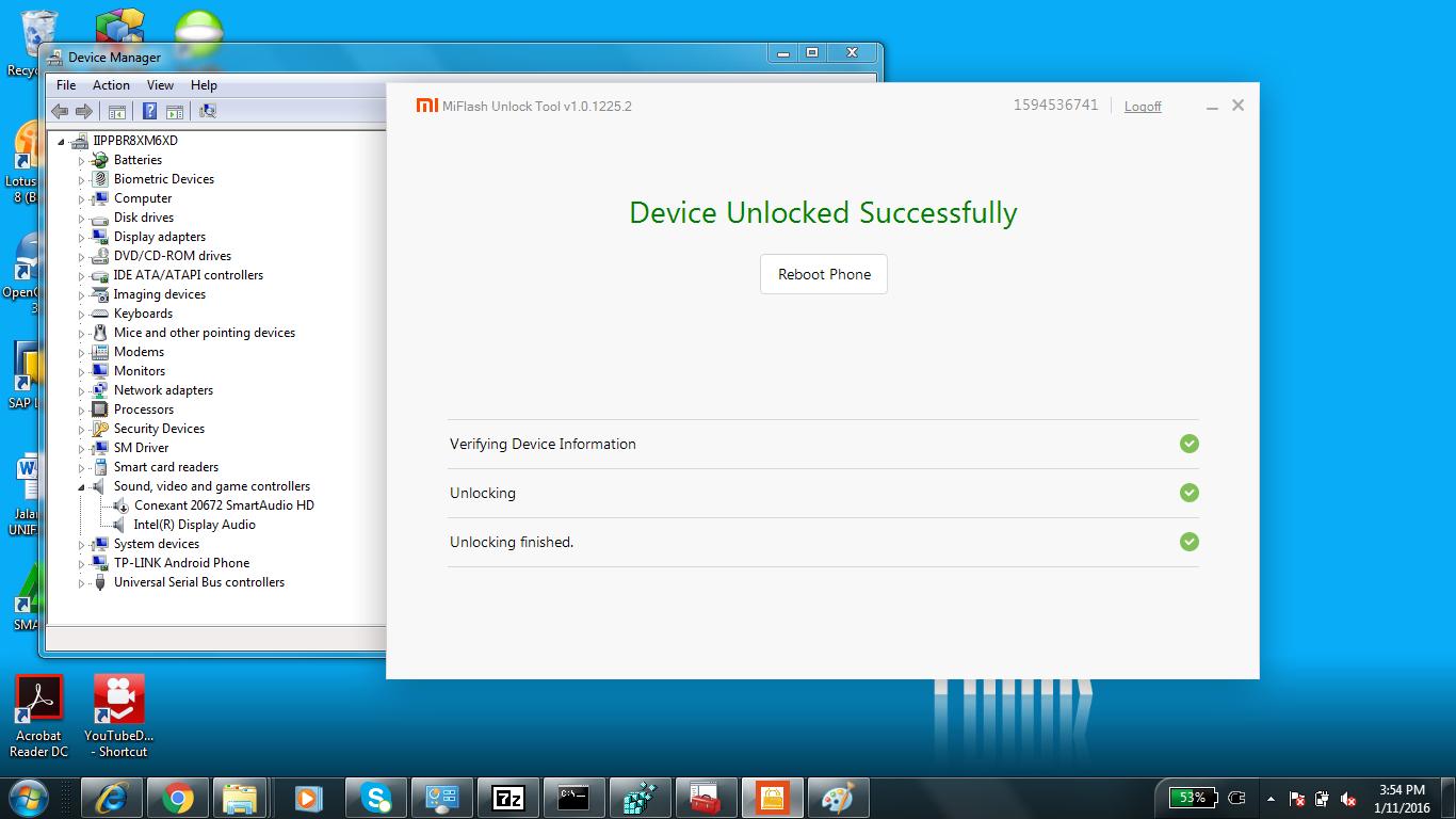 Cara unlock bootloader Semua Xiaomi - LuqmanSoftware