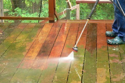Pressure Washing Swimming Pools in New Hampshire and Massachusetts