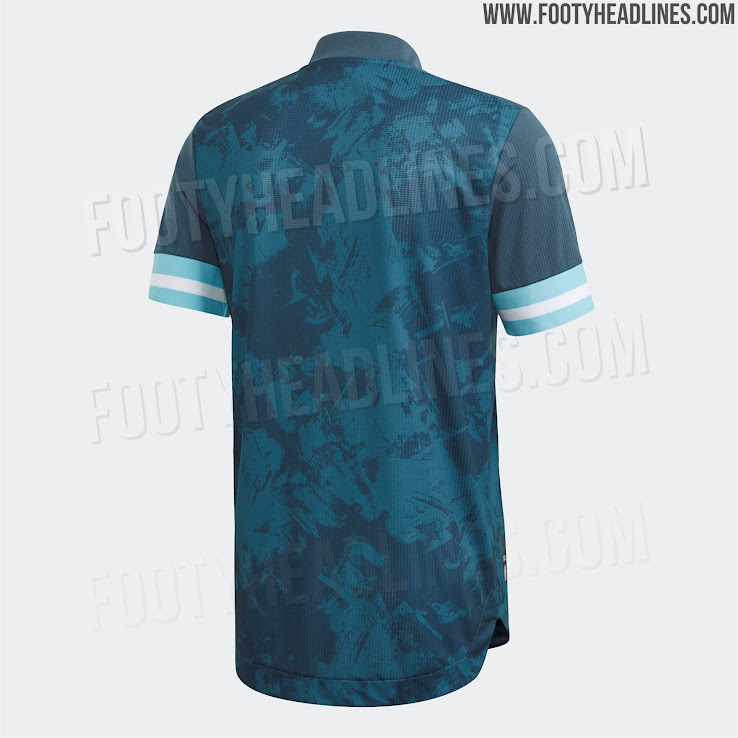 Argentina 2020 Copa America Away Kit 2 | Áo Bóng Đá Sum Store