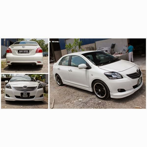 Body Kit Toyota Vios TOMS 2007-2012