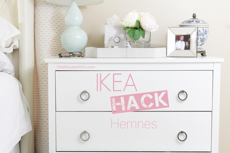 Ikea hack hemnes little house of chic for Ikea hemnes hack