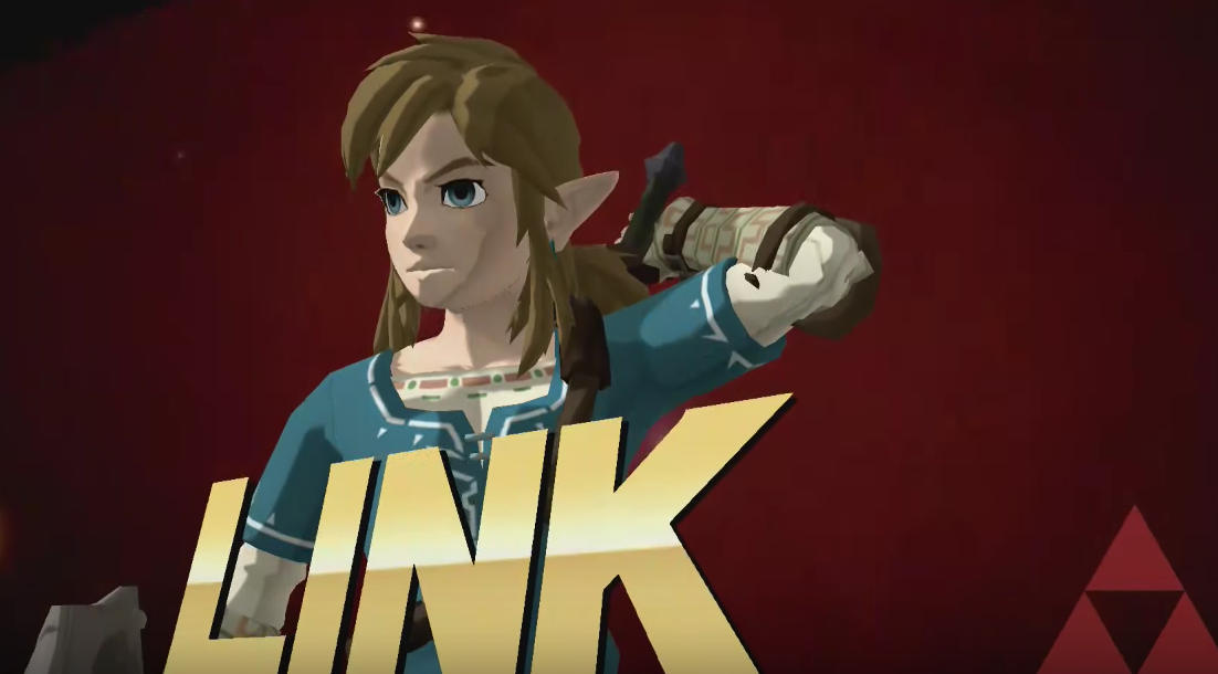 Crean mod con Link de Zelda: Breath of the Wild para Super Smash Bros