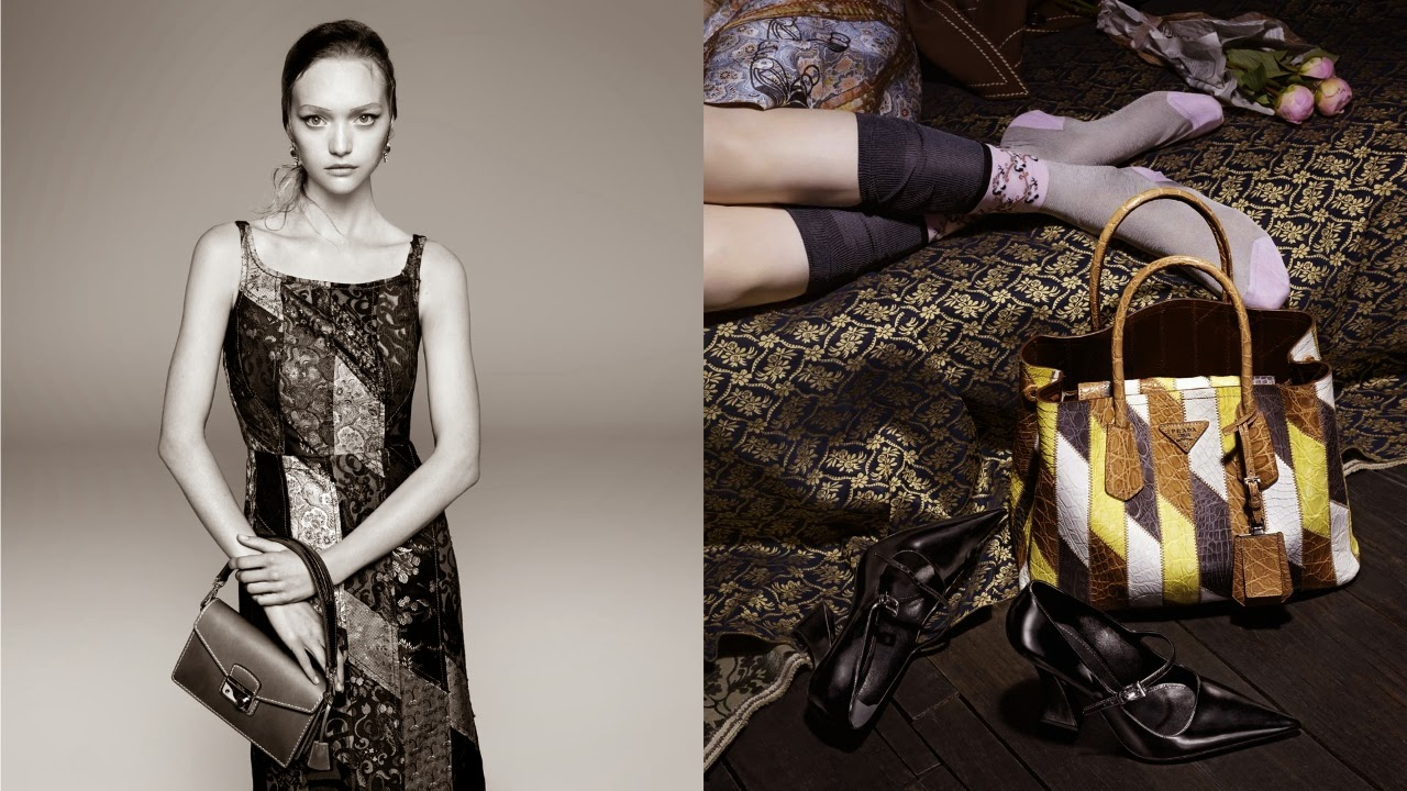 Gemma Ward Is The Face of Prada's SS15 Campaign!