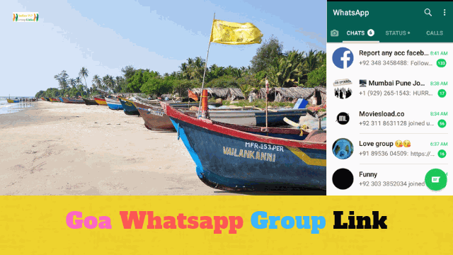 80+ Best Goa Whatsapp Group Link List For Goa Lovers