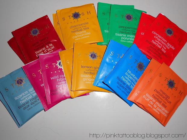 Herbal Tea Sampler Stash