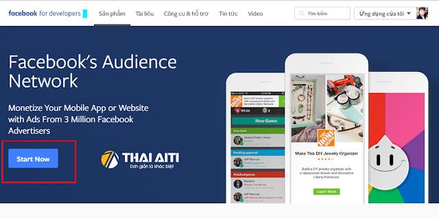 Kiếm tiền online với Audience Network của Facebook