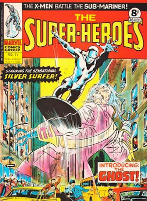 Marvel UK, The Super-Heroes #11, The Silver Surfer
