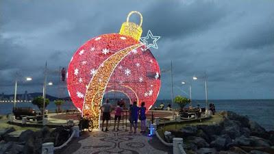 iluminação de natal de balneário camboriú