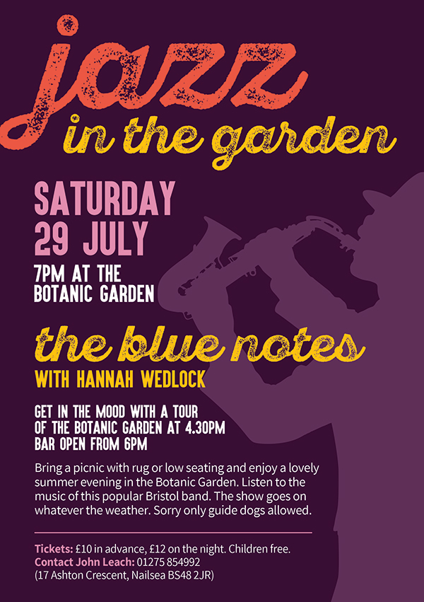 Graphic bubble for Jazz in the gardens 2017 dates