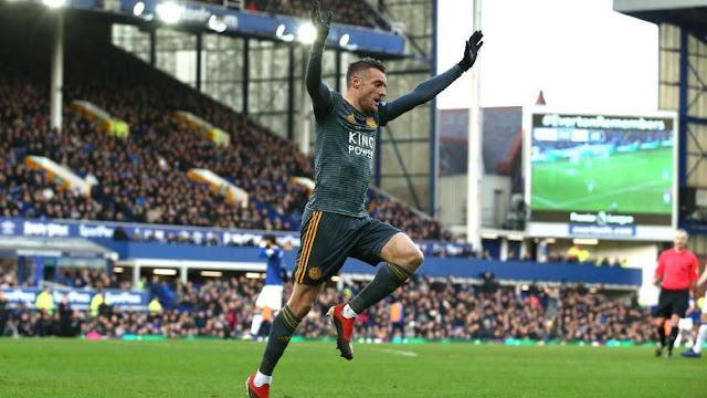 Vardy Cetak Gol Pertama Premier League di 2019, Leicester Menang