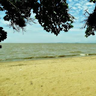 Praia do Canto das Mulatas, em Barra do Ribeiro