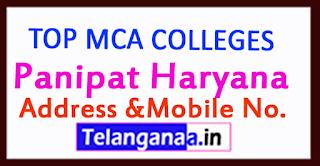 Top MCA Colleges in Panipat Haryana