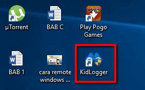 Cara Mengintai Aktivitas Komputer Orang sekitar dengan KidLogger