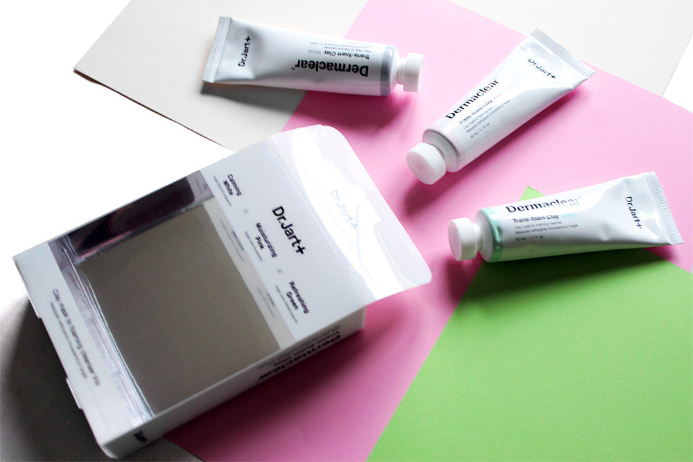 Dr.Jart+ Clay Mask to Foaming Cleanser Trio review