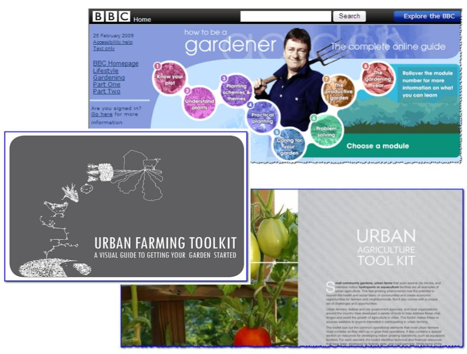 How To Be A Gardener Or Urban Farmer: Three Excellent (and Free) Resources.