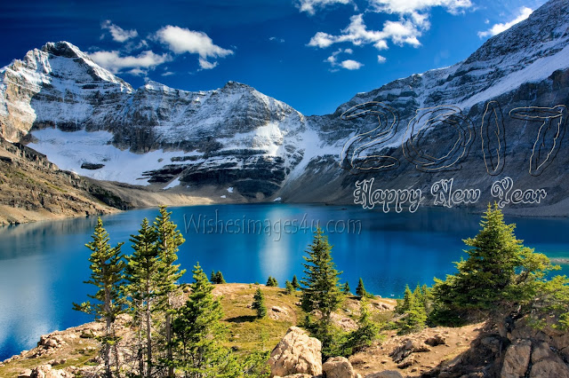 Happy New year 2017 HD Nature Wallpaper Download Free