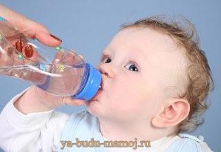 Как подсчитать норму воды для ребенка